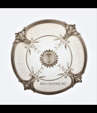 B&S Lighting B&S LIGHTING MDPU2001-26 INCH CEILING MEDALLION