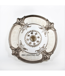 B&S Lighting B&S LIGHTING MDPU2001-39 INCH CEILING MEDALLION