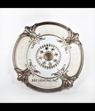 B&S Lighting B&S LIGHTING MDPU2001-39 INCH CEILING MEDALLION
