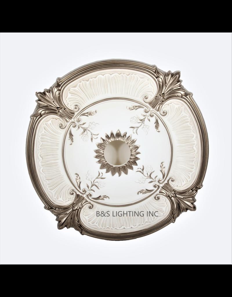 B&S Lighting B&S LIGHTING MDPU2001-30 INCH CEILING MEDALLION