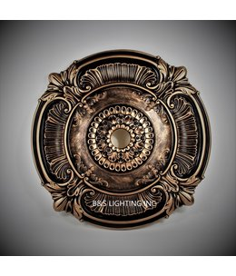 B&S Lighting B&S LIGHTING MDPU2002-39 INCH CEILING MEDALLION