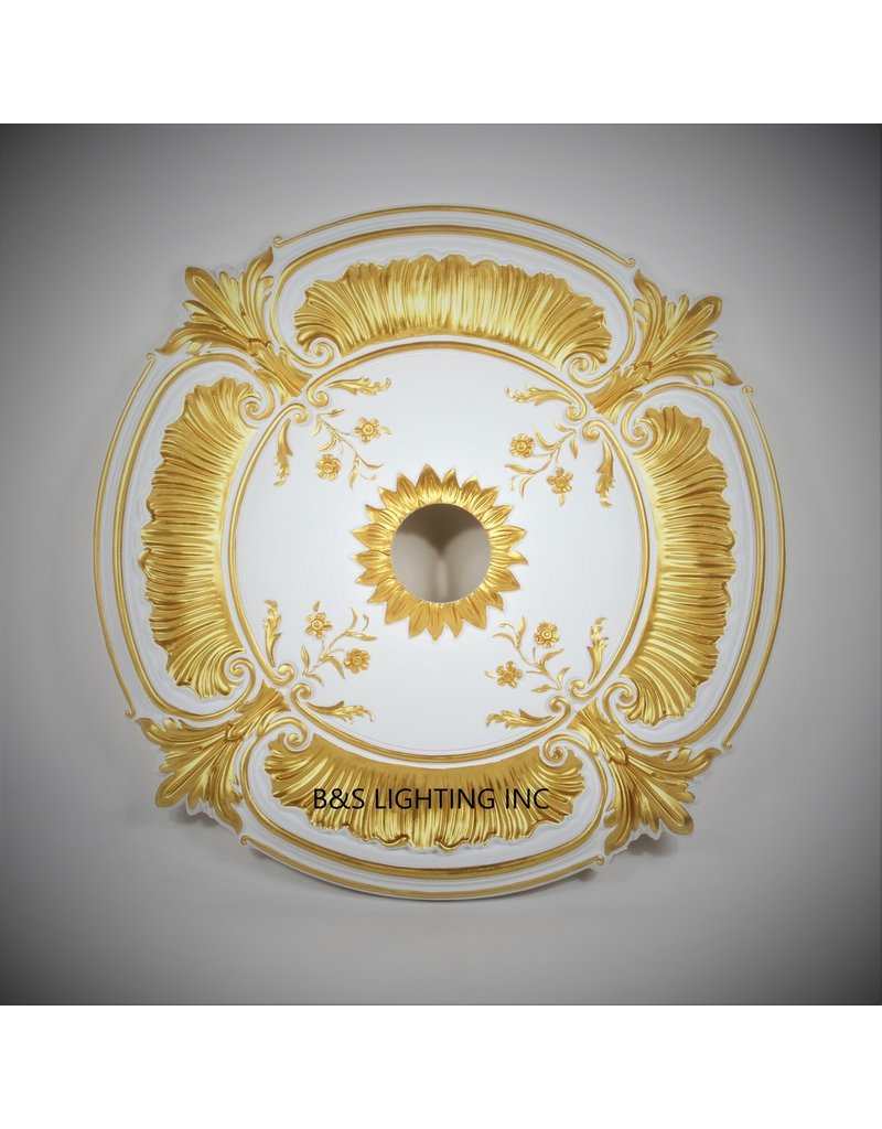 B&S Lighting B&S LIGHTING MDPU2005-30 INCH CEILING MEDALLION