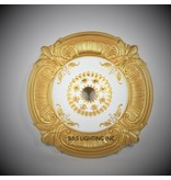 B&S Lighting B&S LIGHTING MDPU2006-39 INCH CEILING MEDALLION