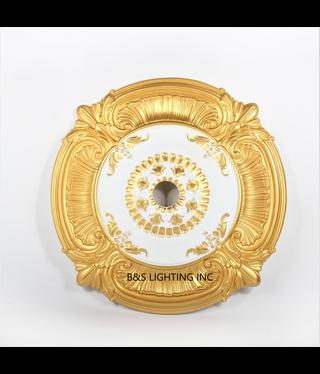 B&S Lighting B&S LIGHTING MDPU2006-39 INCH CEILING MEDALLION