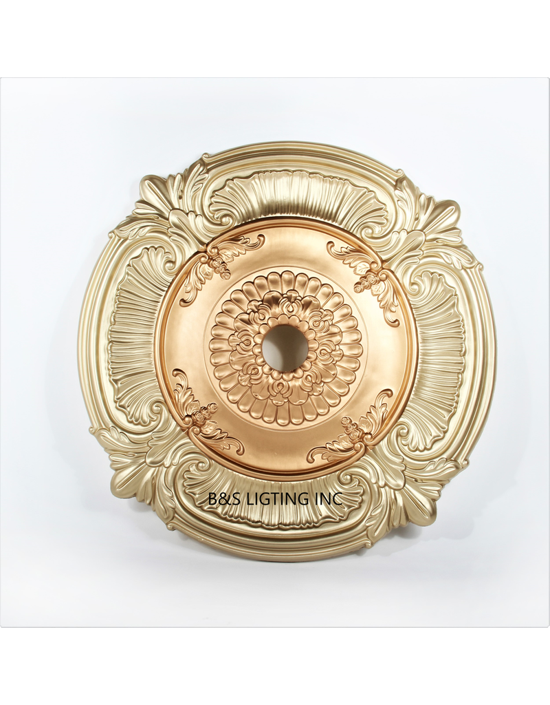 B&S Lighting B&S LIGHTING MDPU2008-39 INCH CEILING MEDALLION