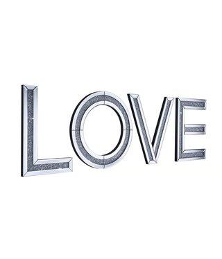 ALPHA LOVE WALL PLAQUE 19. X 12.55, 19.5 X 19.5 X 19.5 X 19, 19.5 X 14.5