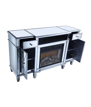 FLASH FIREPLACE  FLFIREPL1001 59.5 X 19.5 X 35
