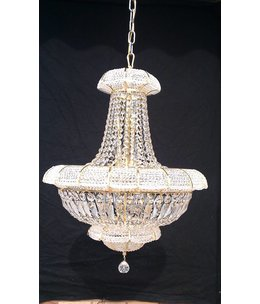B&S Lighting 1003H-24X28 inch (wxh)CHROME CHANDELIER