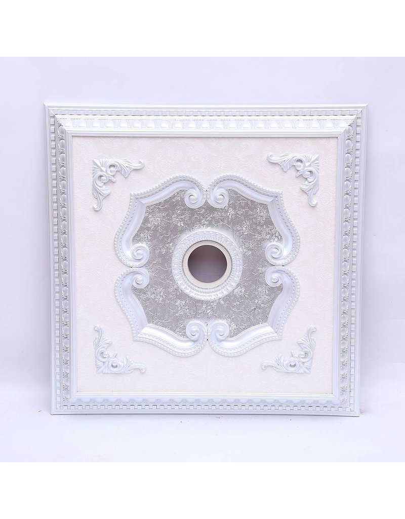 B&S LIGHTING SQR1Z089-39 INCH CEILING MEDALLION