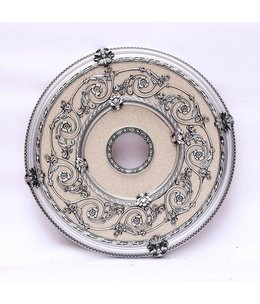 B&S Lighting B&S LIGHTING RND2BS101-24 INCH CEILING MEDALLION INCH