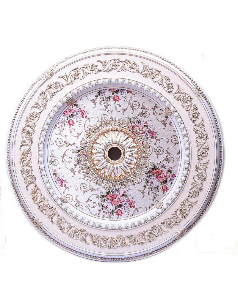 B&S Lighting B&S LIGHTING RND2LS287-52 INCH CEILING MEDALLION INCH
