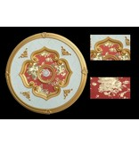 B&S Lighting B&S LIGHTING RND1S093-39 INCH CEILING MEDALLION