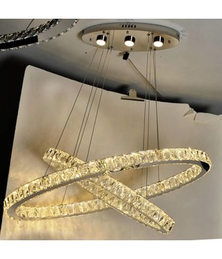 """DOVER-OVAL-36""""+27"""" CHANDELIER"""