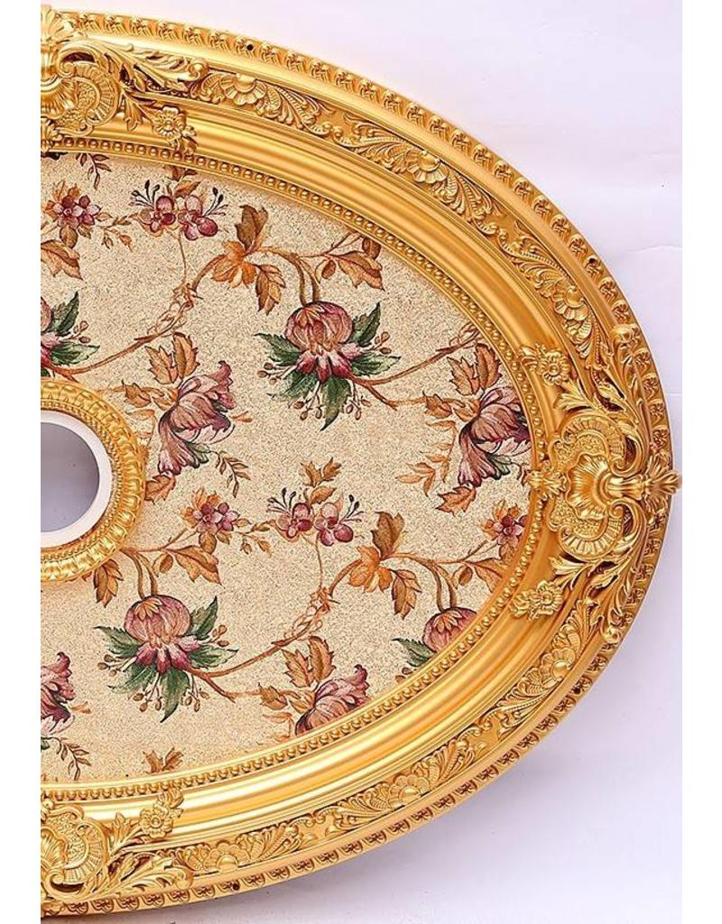 B&S Lighting B&S LIGHTING OVL1S291-32X44 CEILING MEDALLION