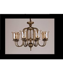 B&S Lighting B&S LIGHTING CALIFORNIA 8L W34' H23' BRONZE FINISH