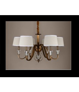 B&S LIGHTING FLORIDA 6L W30' H17' BRONZE FINISH