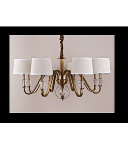 B&S Lighting B&S LIGHTING FLORIDA 8L W37'' H17'' BRONZE FINISH
