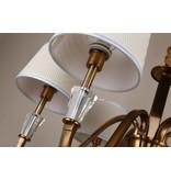 B&S Lighting B&S LIGHTING FLORIDA 8L W37'' H17'' BRONZE FINISH