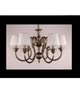 B&S Lighting B&S LIGHTING WYOMING 6L W28' H19' BRONZE FINISH