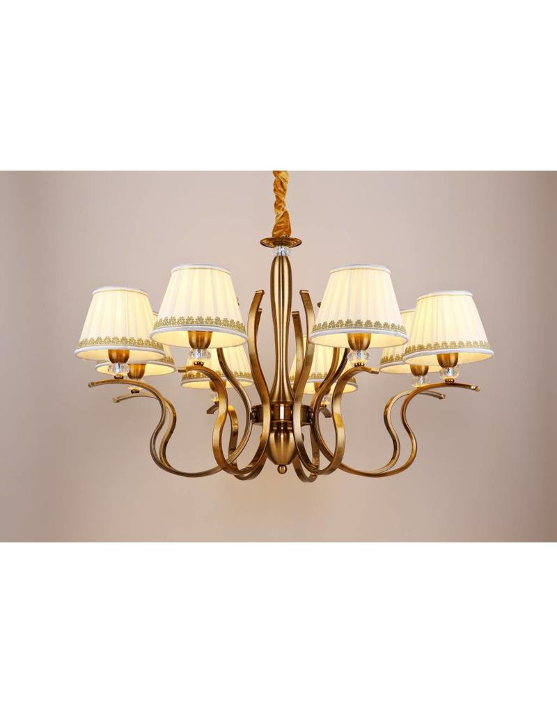 B&S Lighting B&S LIGHTING OREGON 8L W33' H20' BRONZE FINISH