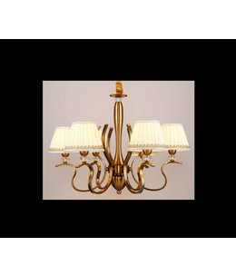 B&S Lighting B&S LIGHTING OREGON 6L W28' H19' BRONZE FINISH