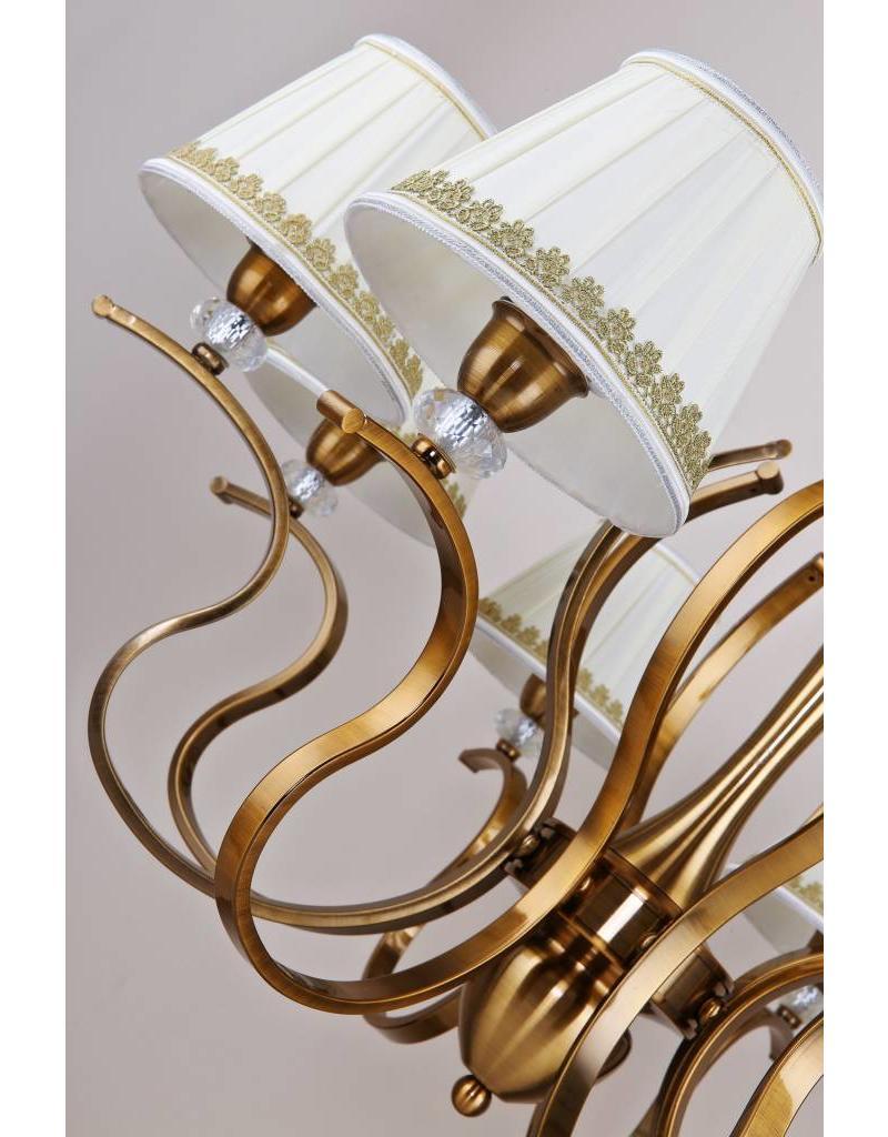 B&S Lighting B&S LIGHTING OREGON 6L W28' H19' BRONZE FINISH