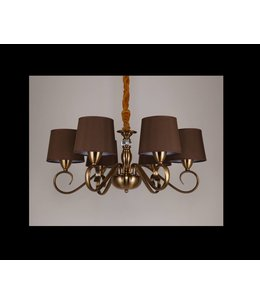 B&S LIGHTING HAWAII 6L W27' H11' BRONZE FINISH