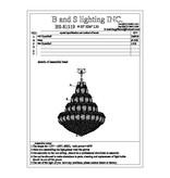 81519H-W32''H36''/CHROME LED(CB342)(L27)