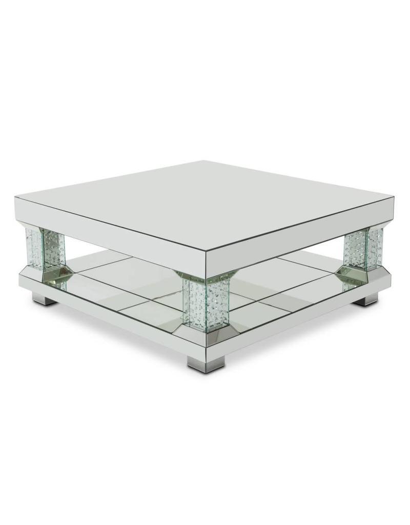 B&S Lighting VANCE COCKTAIL TABLE B 35X35X20 INCHES