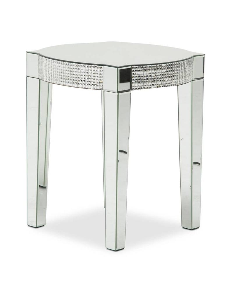 B S Lighting Beta Side Table C 20x20x24 Inches