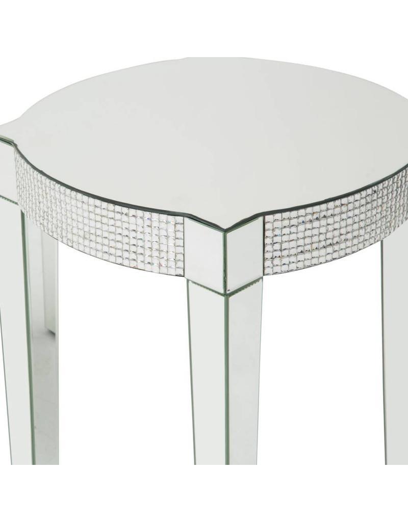 B&S Lighting BETA SIDE TABLE C 20X20X24 INCHES