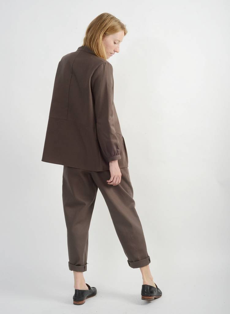 Canvas Pant - Smokey