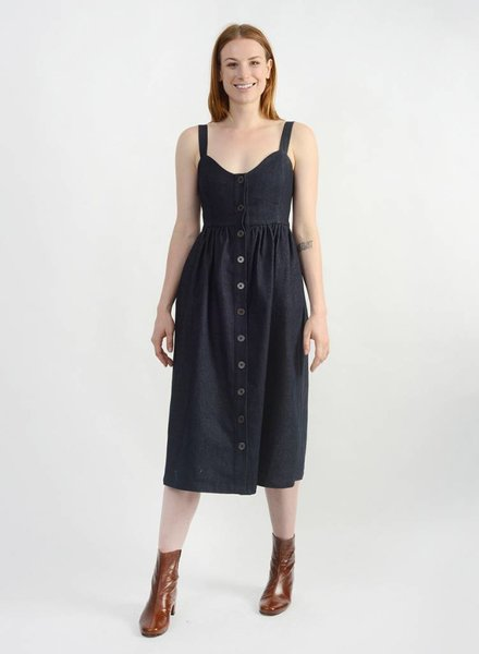 Denim Girly Dress