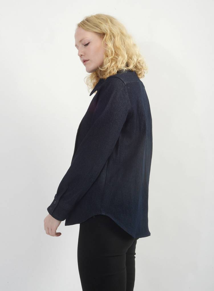 Denim Bib Shirt