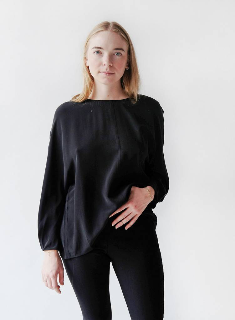 Ivy Blouse - Black