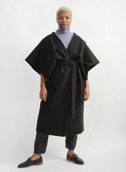 Kimono Coat - Black