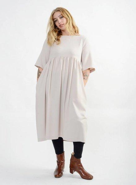 Liberty Doll Dress - Pearl