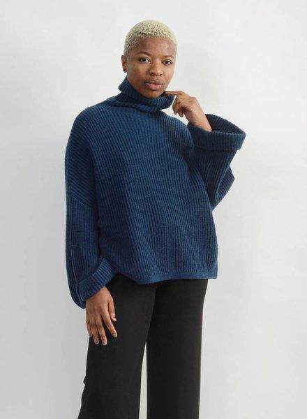 Rollneck Sweater - Ocean