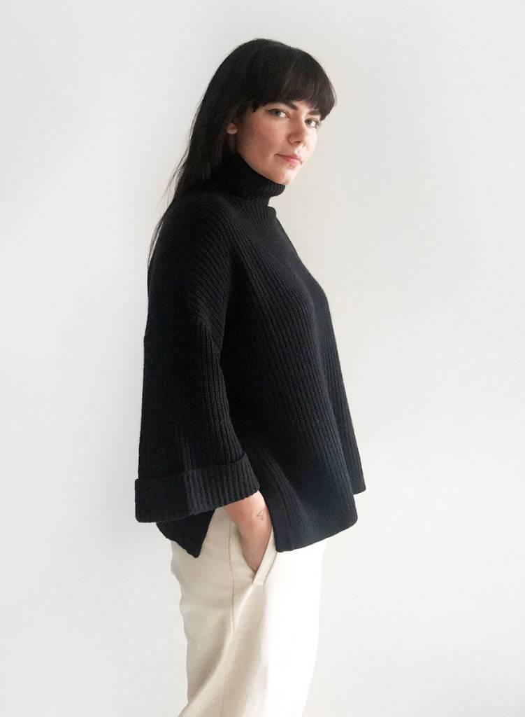 Rollneck Sweater - Black