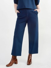 Short Hepburn Pant - Deep Teal