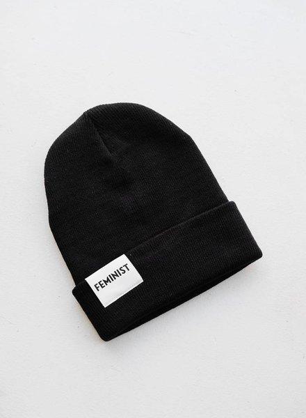 Feminist Hat - Black