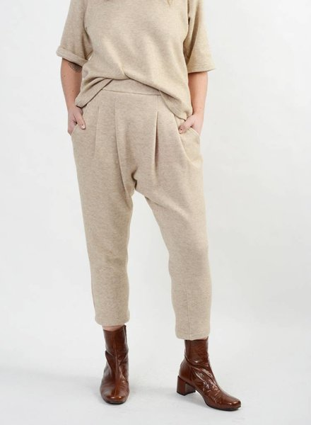 Knit Holly Pant - Beige