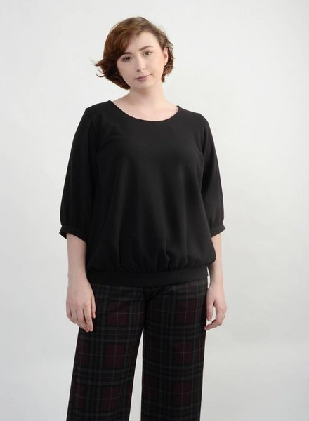 Derby Top - Black