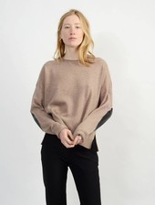 Casual Crew Neck Sweater - Taffy