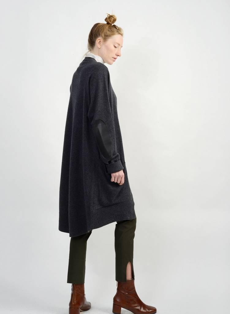 Cardigan Sweater - Crow