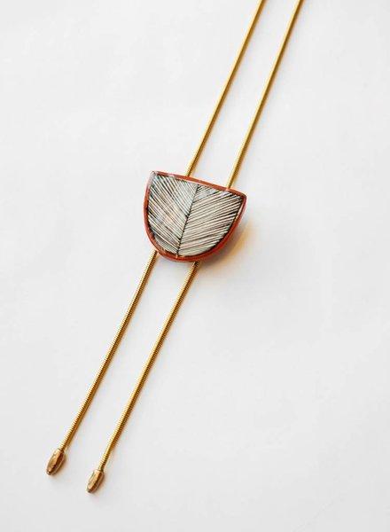 Hechizo Khamra Terra Bolo Necklace