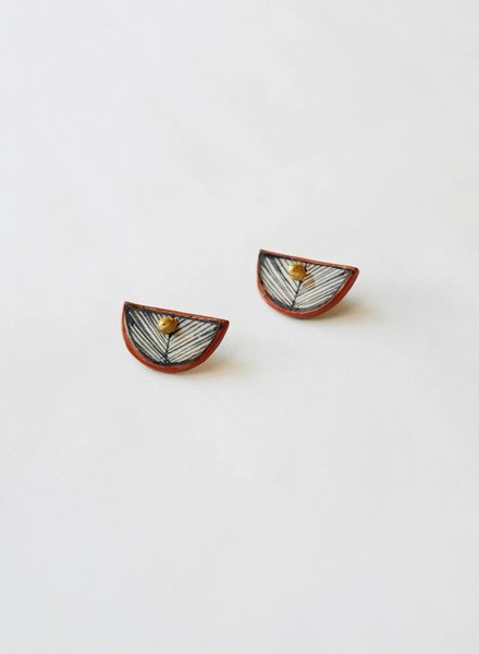 Hechizo Fan Ear Jacket Earrings