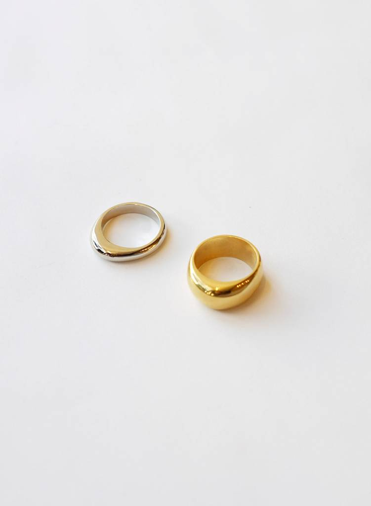 Soko Soko Organic Mixed Metal Ring