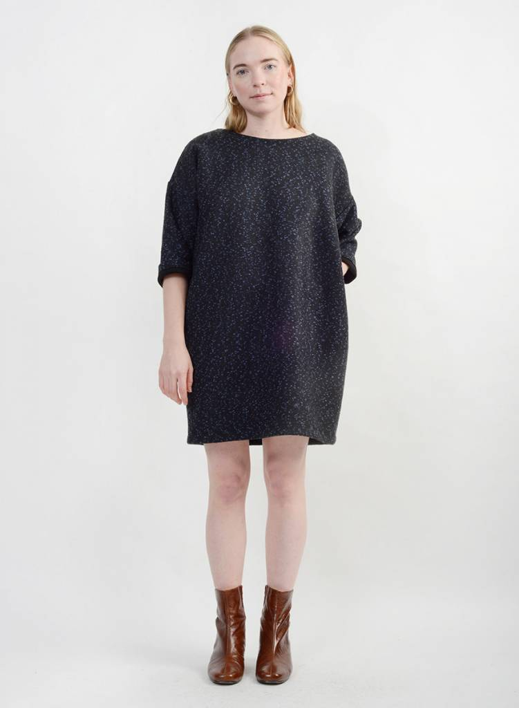 Copotto Sweater Dress Blueblack Meg Made In Your Neighborhood