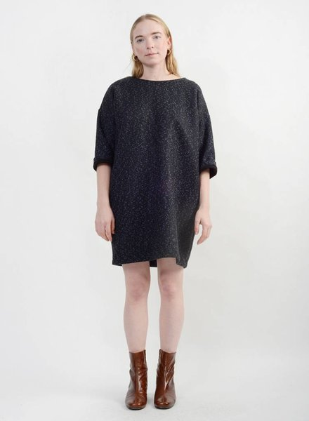 Copotto Sweater Dress - Blue/Black